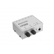 2 kanalų mikšerinis pultas OMNITRONIC LH-015 2-channel mic line mixer