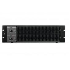 OMNITRONIC GEQ-2310XL Equalizer 2x31-Band