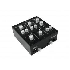 Rotorinis DJ mikšerinis 2-jų kanalų pultas OMNITRONIC TRM-202MK2