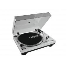 DJ patefonas OMNITRONIC BD-1380 USB Turntable sil