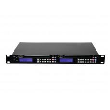 Grotuvas OMNITRONIC DMP-202 dual USB CD player