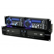 Dvigubas CD MP3 grotuvas OMNITRONIC XMP-2800MT