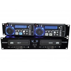 CD grotuvas OMNITRONIC XDP-2800 Dual CD/MP3 player