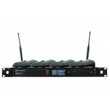 Mikrofonai konferenciniai ant stalo  4 vnt, RELACART Set 1x WAM-400 and 4x UB-200 System