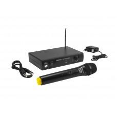 Bevielis mikrofonas OMNITRONIC VHF-101 Wireless Mic System 214.35MHz