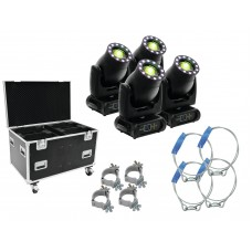 FUTURELIGHT Set 4x PLB-230 + case