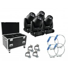 FUTURELIGHT Set 4x DMB-150 LED + case