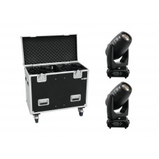 EUROLITE Set 2x PLB-280 + Case