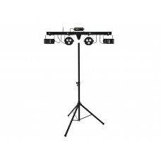 EUROLITE Set LED KLS Laser Bar FX + M-3 Speaker-system stand