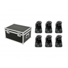 EUROLITE Set 6x LED TMH-8 + Case