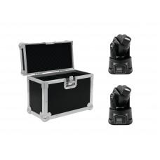 EUROLITE Set 2x LED TMH-6 + Case