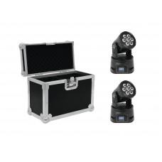 EUROLITE Set 2x LED TMH-9 + Case