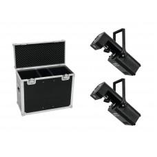 EUROLITE Set 2x LED TSL-1200 Scan + Case