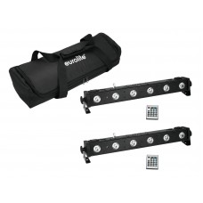 EUROLITE Set 2x LED BAR-650 + Soft-Bag