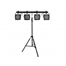 EUROLITE Set LED KLS-200 + STV-40-WOT Aluminium stand
