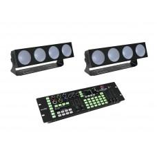 EUROLITE Set 2x LED CBB-4 + DMX LED Color Chief Controller