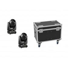 EUROLITE Set 2x DMH-80 LED Spot + Case