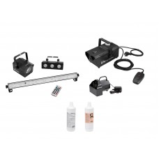EUROLITE Set LED Mini-Partyset + B-50 + N-10 + Fluid