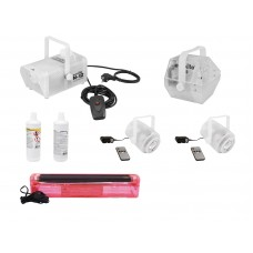 EUROLITE Set N-12 + BEK-10 + BEL-15 + UV tube set red + B-70 + F