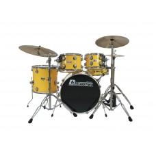 Būgnų komplektas DIMAVERY DS-620 Drum Set, yellow