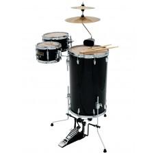 DIMAVERY CDS Cocktail Drum set, black