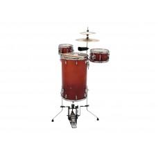 DIMAVERY CDS Cocktail Drum set, orangeburst