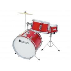 Būgnų komplektas vaikams DIMAVERY JDS-203 Kids Drum Set, red