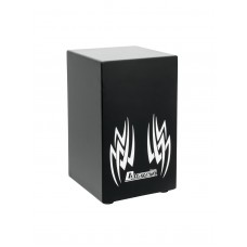 DIMAVERY CJ-410 Tribal Cajon, black/white