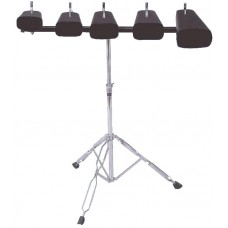 DIMAVERY DP-10 Cow Bell Set with stand