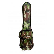 DIMAVERY BSB-200 Soft bag E-bass camo gn