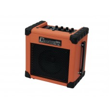 DIMAVERY Deluxe-1 E-Guitar Amp 10W orange