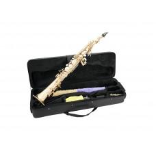 DIMAVERY SP-10 Bb Soprano Saxophone, gold