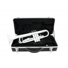 DIMAVERY TP-10 Bb Trumpet, white