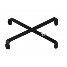 DIMAVERY Cross shaped stand for wind instrument stands, bl