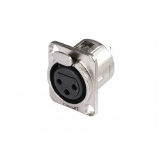 HICON XLR mounting plug 3pin HI-X3DF