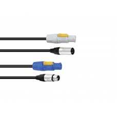 PSSO Combi cable PowerCon/XLR 10m