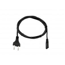OMNITRONIC Euro power cable 1m bk