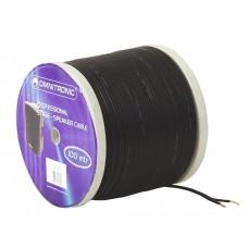 OMNITRONIC Speaker cable 2x0.75 100m bk NYFAZ