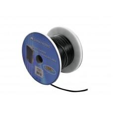 OMNITRONIC Speaker cable 2x0.75 50m bk NYFAZ