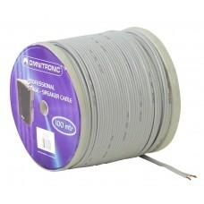 Baltas garsiakalbių kabelis OMNITRONIC Speaker cable 2x0.75 100m wh NYFAZ