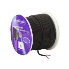 OMNITRONIC Speaker cable 2x1.5 50m bk durable