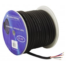 HELUKABEL Speaker cable 4x4 50m bk