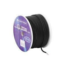 OMNITRONIC Microphone cable 2x0.22 100m bk