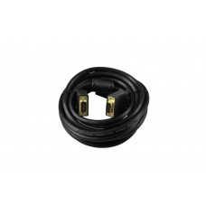 SOMMER CABLE SUB-D cable 5m bk