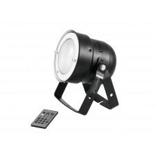 LED PAR prožektorius EUROLITE LED PAR-56 COB RGB 25W bk