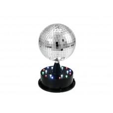 Šviečiantis gaublys LED EUROLITE LED Mirror ball 13cm
