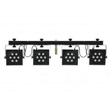 LED DMX šviesos efektų rinkinys EUROLITE LED KLS-801 Compact Light Set
