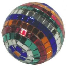 Spalvotas Veidrodinis gaublys EUROLITE Mirror ball 5cm Multicolor