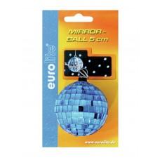 Veidrodinis gaublys EUROLITE Mirror ball 5cm blue