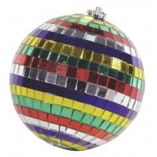 Veidrodinis gaublys spalvotas EUROLITE Mirror ball 10cm Multicolor
